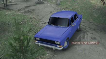 Moskvich 2140 para Spin Tires