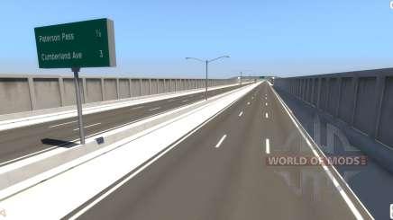 La Carretera De La Matriz para BeamNG Drive