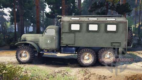 ZIL-157 Macho para Spin Tires