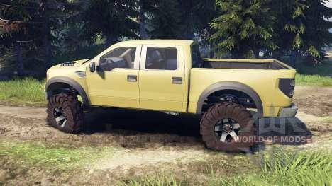 Ford Raptor SVT v1.2 olive para Spin Tires