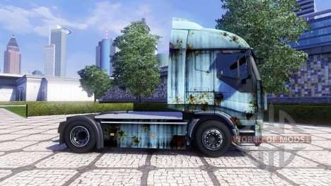 La piel Oxidado en la unidad tractora Iveco Stra para Euro Truck Simulator 2