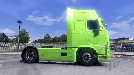 La piel XXL de BPAS para camiones Volvo para Euro Truck Simulator 2