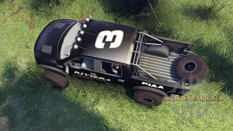 Ford Raptor Pre-Runner riviera para Spin Tires