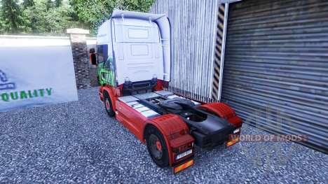 La piel de Eddie Stobart en la unidad tractora S para Euro Truck Simulator 2