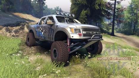 Ford Raptor Pre-Runner monster para Spin Tires