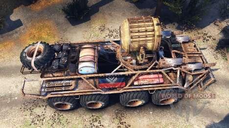 BTR Mongo para Spin Tires