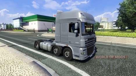 Nuevo chasis para todos los camiones para Euro Truck Simulator 2