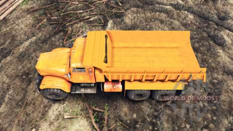 KrAZ-255 B1 v3.0 para Spin Tires