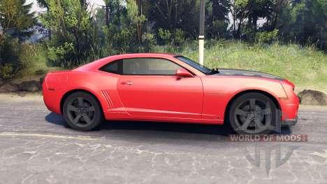Chevrolet Camaro SS para Spin Tires