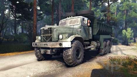 KrAZ-255 v3.0 para Spin Tires