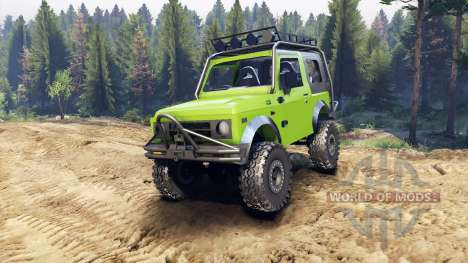 Suzuki Samurai Extreme v1.5 para Spin Tires