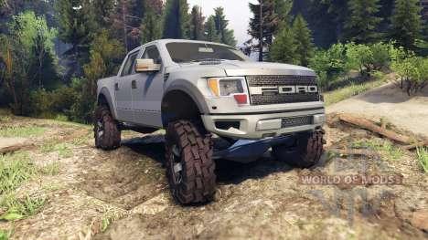 Ford Raptor SVT v1.2 matte gray para Spin Tires