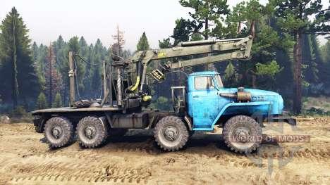 Ural-6614 para Spin Tires