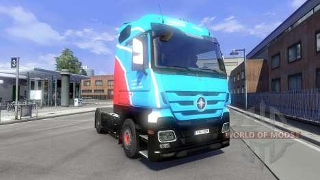 La piel Ihro Jumbo GmbH en el tractor Majestuoso para Euro Truck Simulator 2