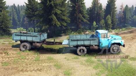 ZIL-130 de la v1.4 para Spin Tires