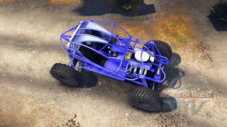 Screamin Blue para Spin Tires