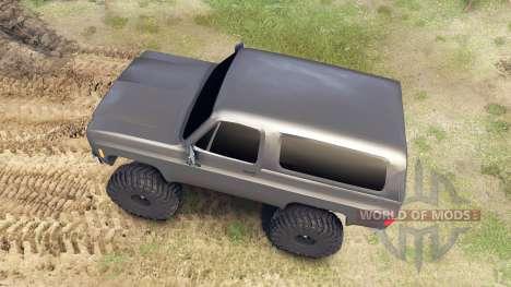 Chevrolet K5 Blazer 1975 para Spin Tires