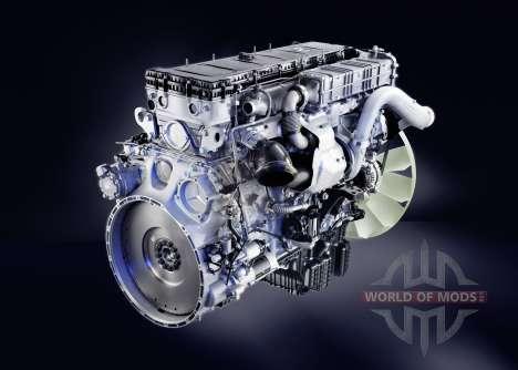 El sonido del motor diesel Mercedes-Benz Actros para Euro Truck Simulator 2