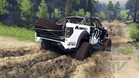 Ford Raptor Pre-Runner fox para Spin Tires