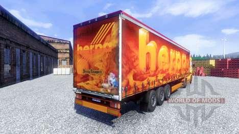 Piel hecha de Oxford para Scania camión para Euro Truck Simulator 2