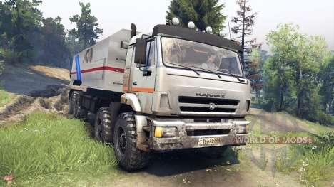 KamAZ-44108 Mustang para Spin Tires