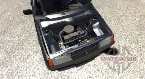 ВАЗ-21099 Black Edition para BeamNG Drive