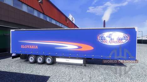 Pieles en Fliegl semi-remolques para Euro Truck Simulator 2
