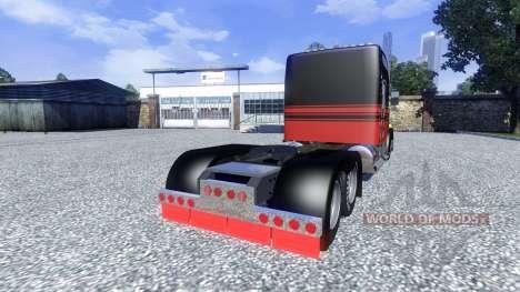 Kenworth W900L para Euro Truck Simulator 2