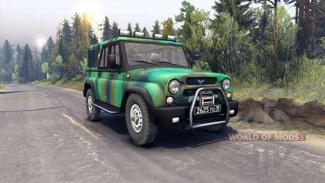 UAZ-3153 para Spin Tires