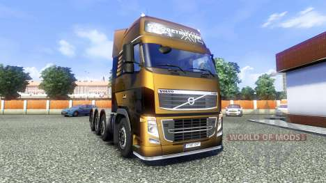 Volvo FH16 8x4 Heavy Duty para Euro Truck Simulator 2