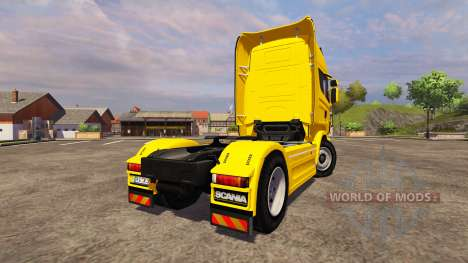 Scania R560 yellow para Farming Simulator 2013