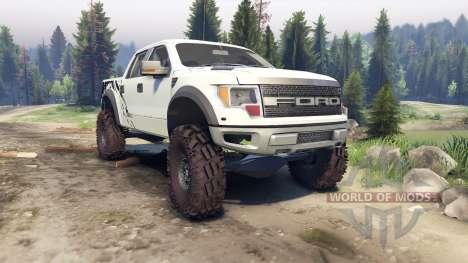 Ford Raptor SVT v1.2 factory terrain para Spin Tires