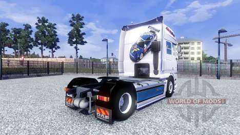 DAF XF Tuning Felbermayr para Euro Truck Simulator 2