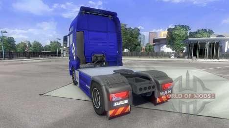 La piel de Hamburgo fahrt HOMBRE en el camión MA para Euro Truck Simulator 2