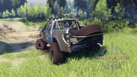 Ford Raptor Pre-Runner v1.1 monster para Spin Tires