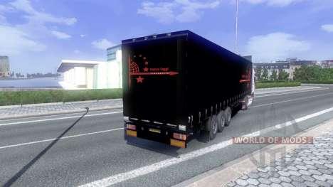 La piel de Patrick Vogtt para DAF XF tractora para Euro Truck Simulator 2