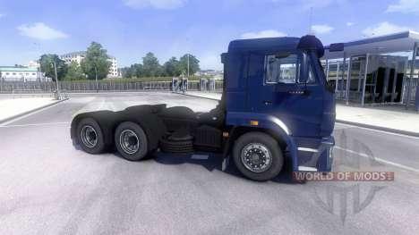KamAZ-5460 para Euro Truck Simulator 2