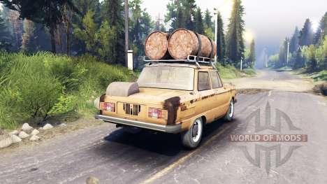 ZAZ-968 m v0.2 para Spin Tires