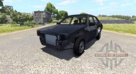 ВАЗ-21099 Black Edition para BeamNG Drive