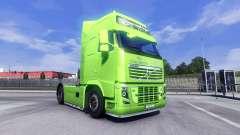 La piel XXL de BPAS para camiones Volvo