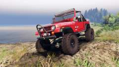 Jeep YJ 1987 Open Top red