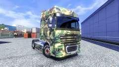 La piel Tarnmuster para DAF XF tractora