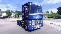 La piel Azul de Ensueño en la unidad tractora Re