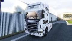 El Scania V8 de piel para Scania camión