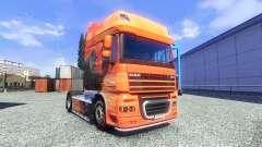 Lowe's de la piel para DAF XF tractora