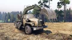 Ural-4320 con los nuevos cargadores