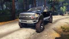 Ford Raptor SVT v1.2 black-gray