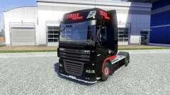 La piel Stocker Transporte para DAF XF tractora