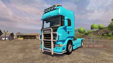 Scania R560 blue para Farming Simulator 2013