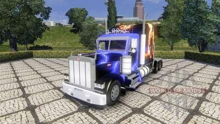 Peterbild 379 new skin para Euro Truck Simulator 2